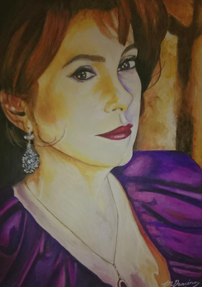 Catherine Deneuve by Mathilde-DRACENA